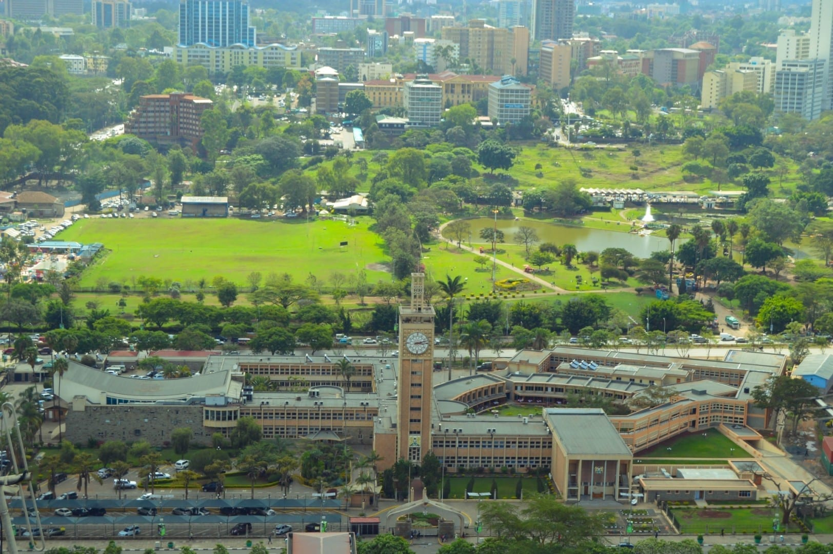 Nairobi verde Nairobi Kenia