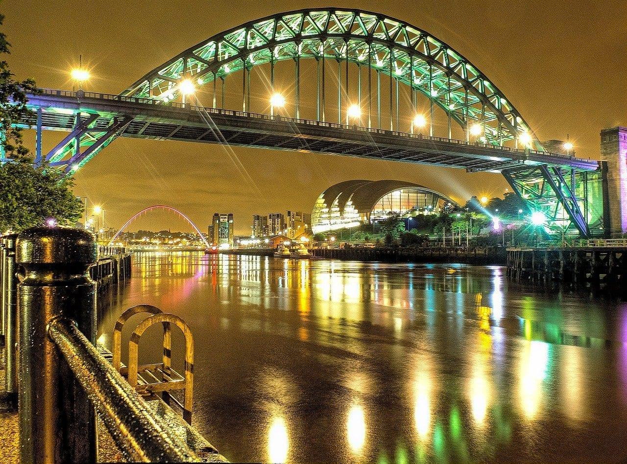 Newcastle Noche Luces Australia