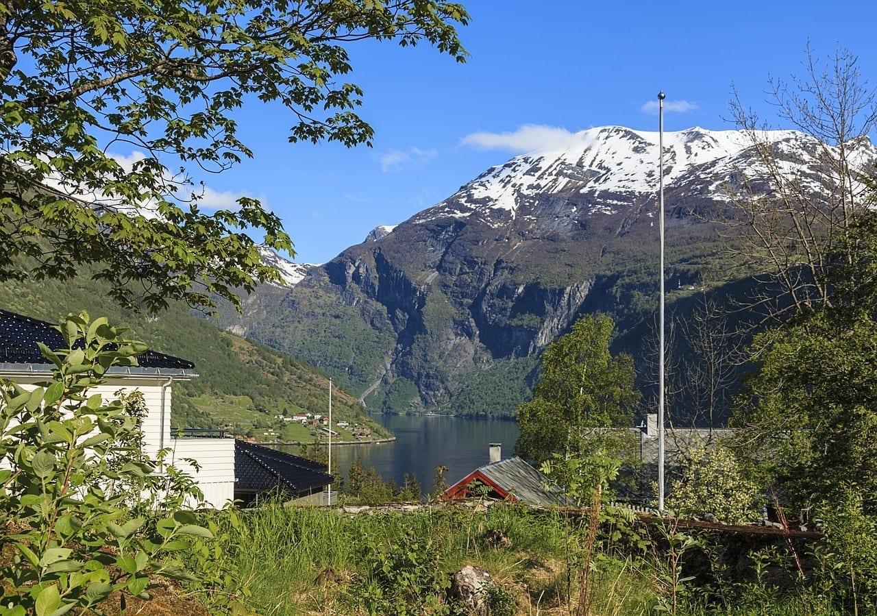 Noruega Geiranger Fiordo Noruega