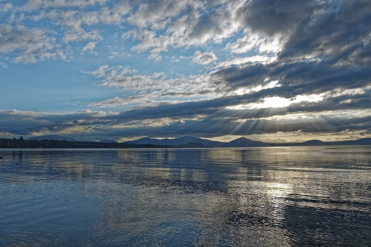 Nueva Zelanda Lago Taupo Lago Nueva Zelanda