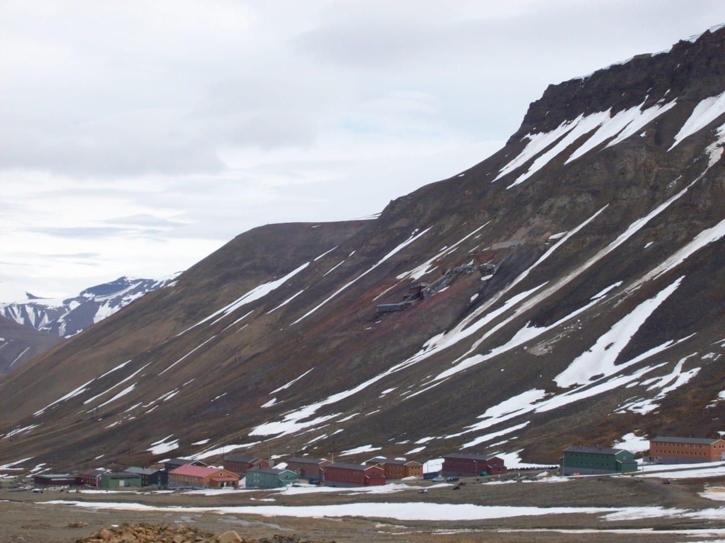 Nybyen Longyearbyen Noruega