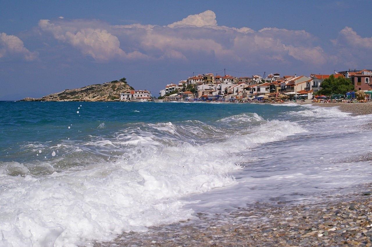 Ola Samos Kokkári Grecia