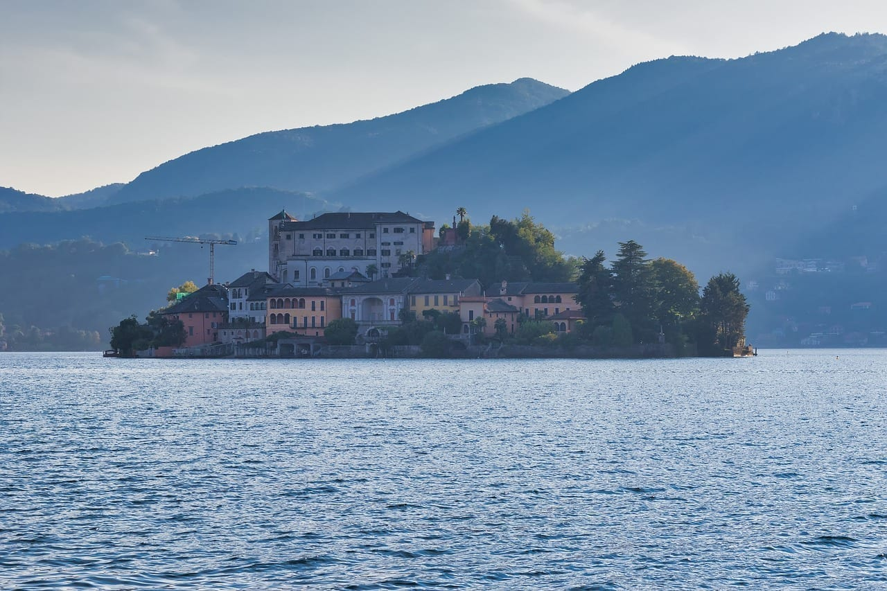 Orta San Giulio Isla Turismo Italia
