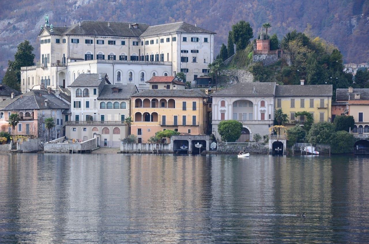 Orta San Giulio Italia Paisaje Italia