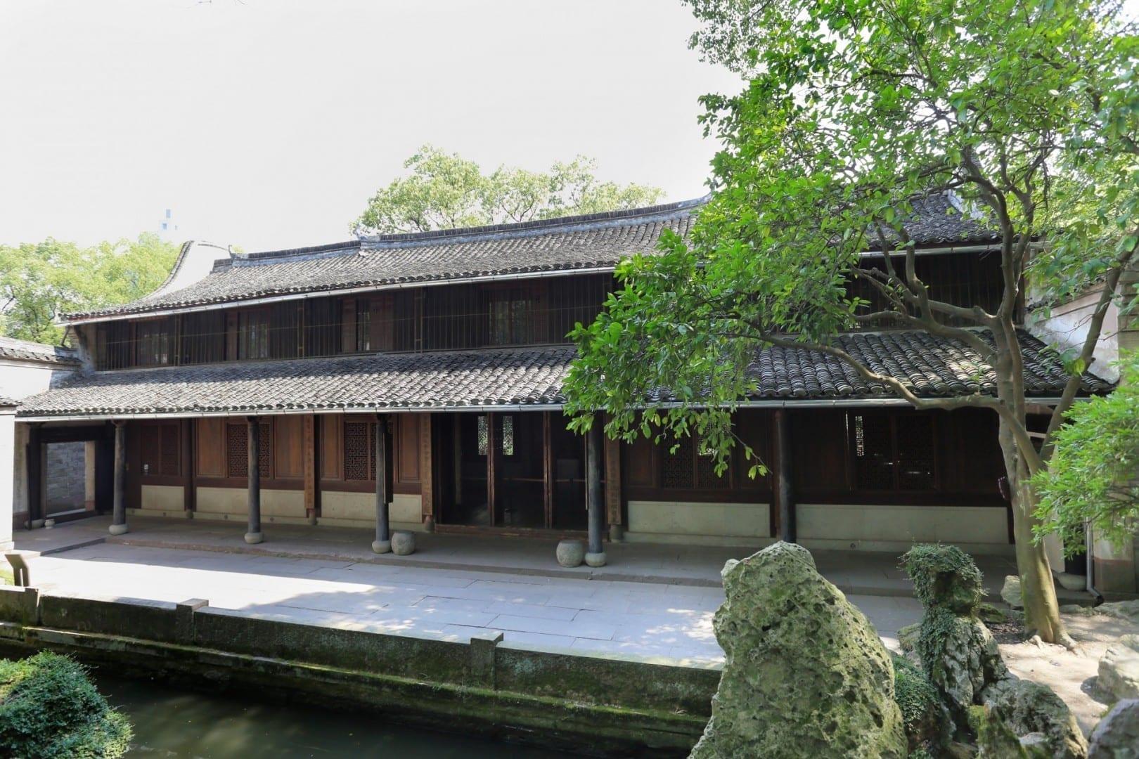 Pabellón TianYi (天一阁) Ningbo China
