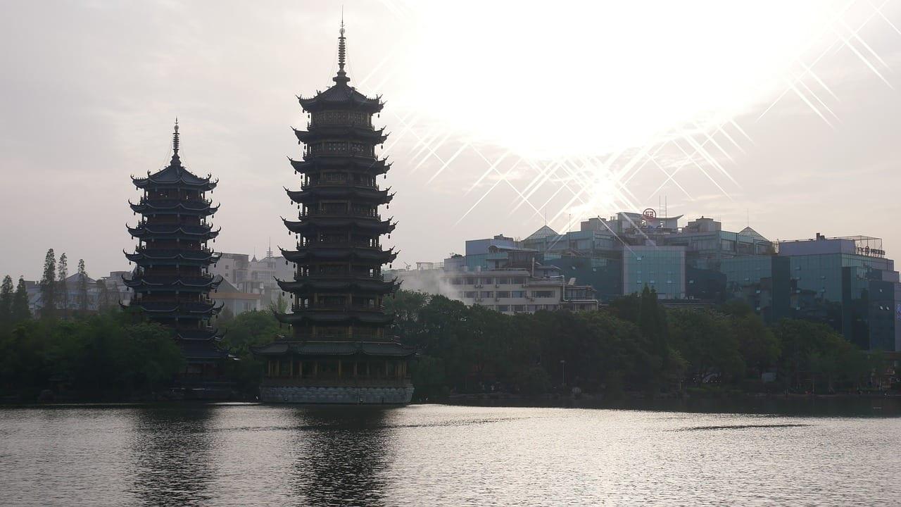 Pagoda China Guilin China