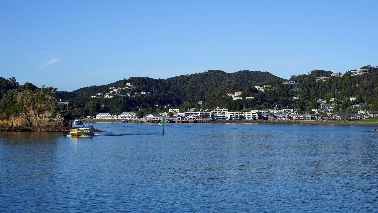 Paihia Nueva Zelanda Bahía De Islas Nueva Zelanda