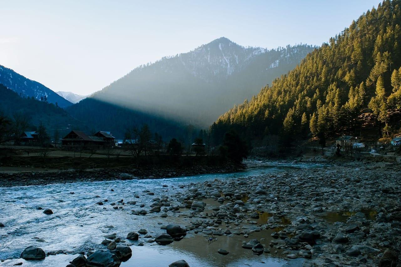 Paisaje Kashmir Srinagar India