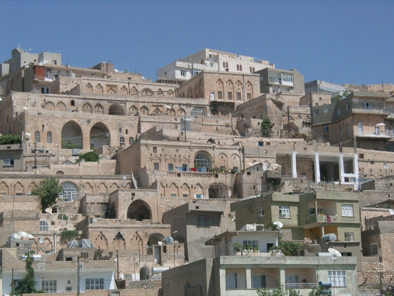 Paisaje urbano de la ciudad vieja Mardin Turquía