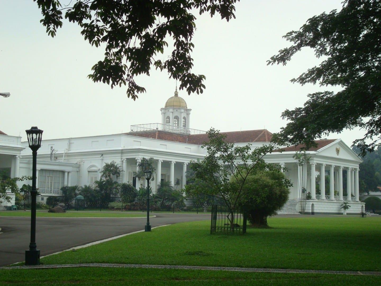Palacio de Bogor Bogor, Java Indonesia
