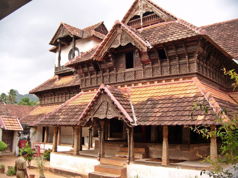 Palacio de Padmanabhapuram Thiruvananthapuram India