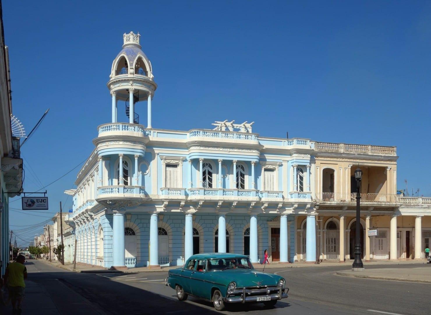 Palacio Ferrer, Marti Park Cienfuegos Cuba