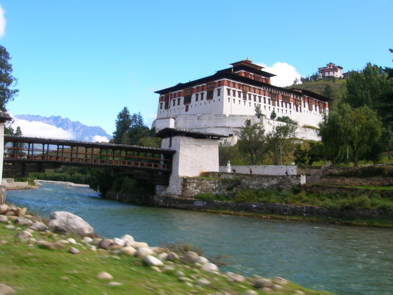 Paro Dzong Paro Bután