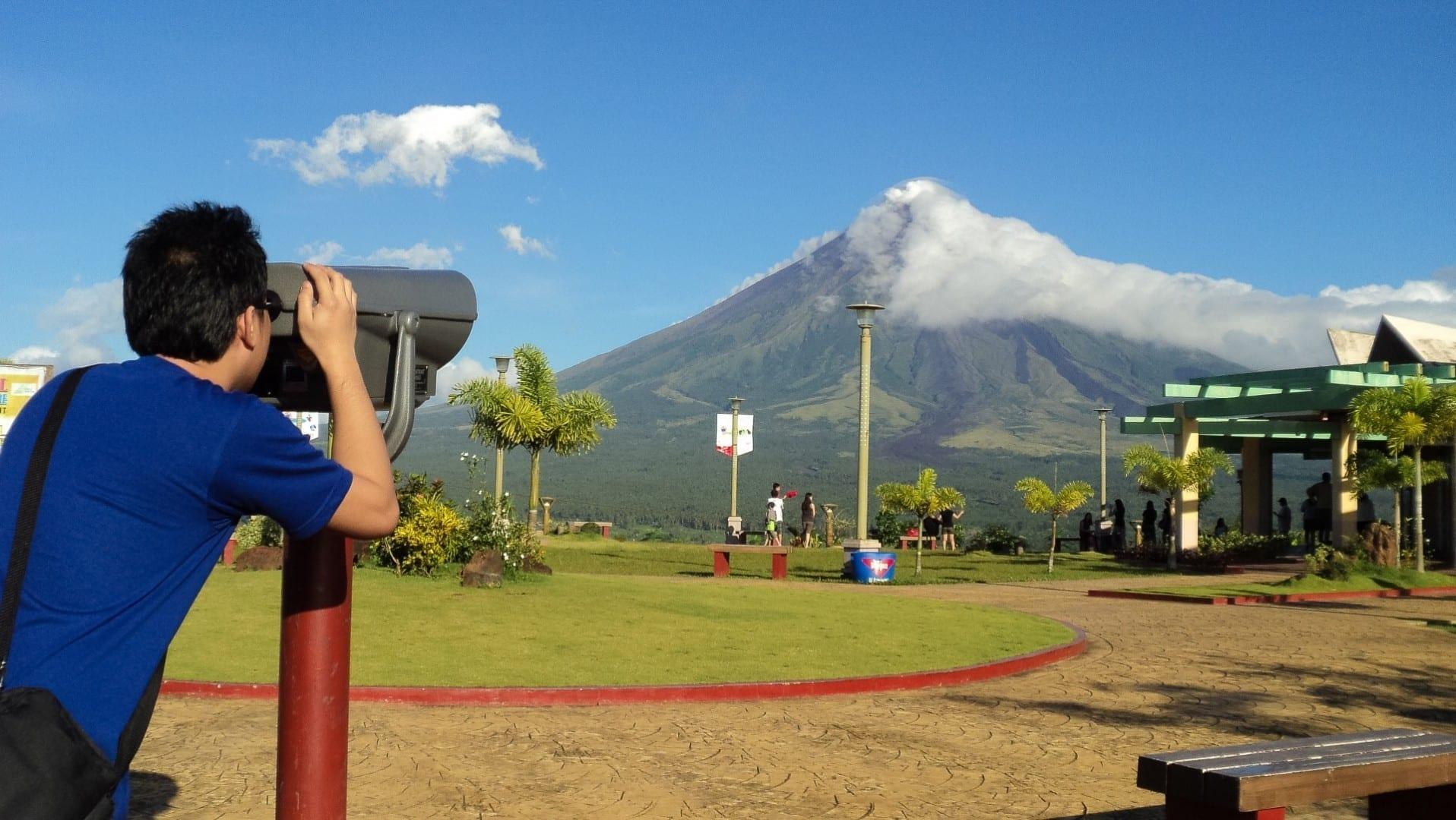 Parque Natural de la Colina de Ligñon Legazpi Filipinas
