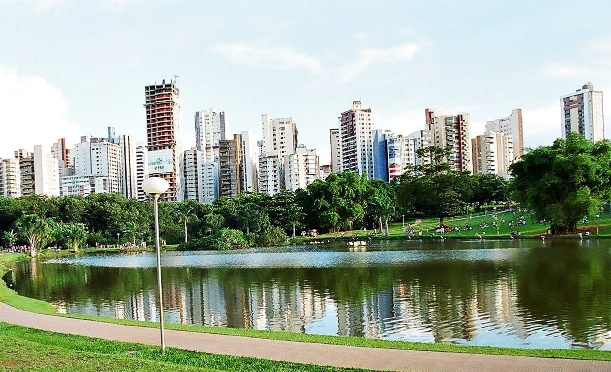 Parque Vaca Brava, en Goiânia Goiânia Brasil