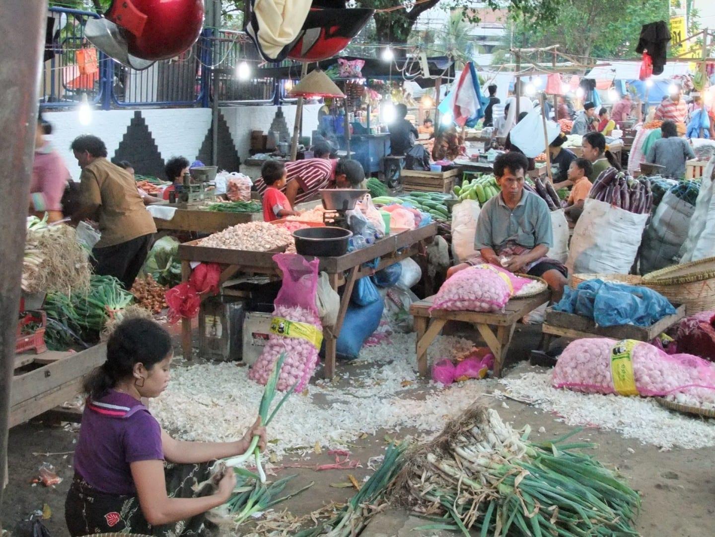 Pasar Keputran Surabaya Indonesia
