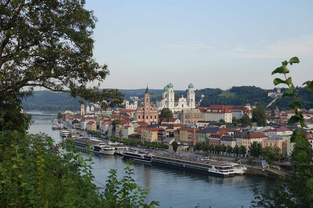 Passau Ciudad Danubio Alemania