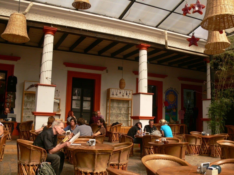 Patio de TierrAdentro San Cristobal de las casas México