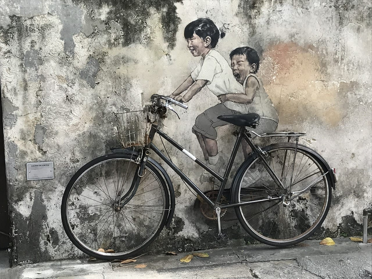 Penang Arte Callejero Malasia Malasia