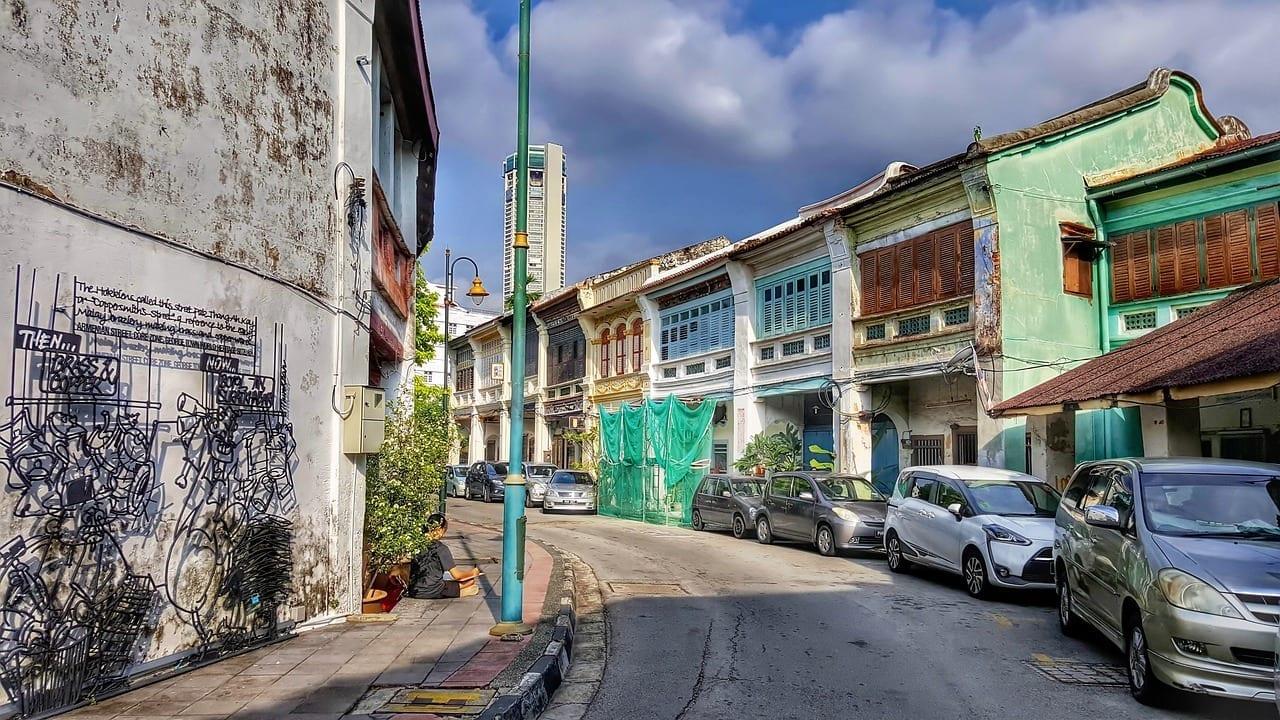 Penang Street View Malasia Tou Malasia