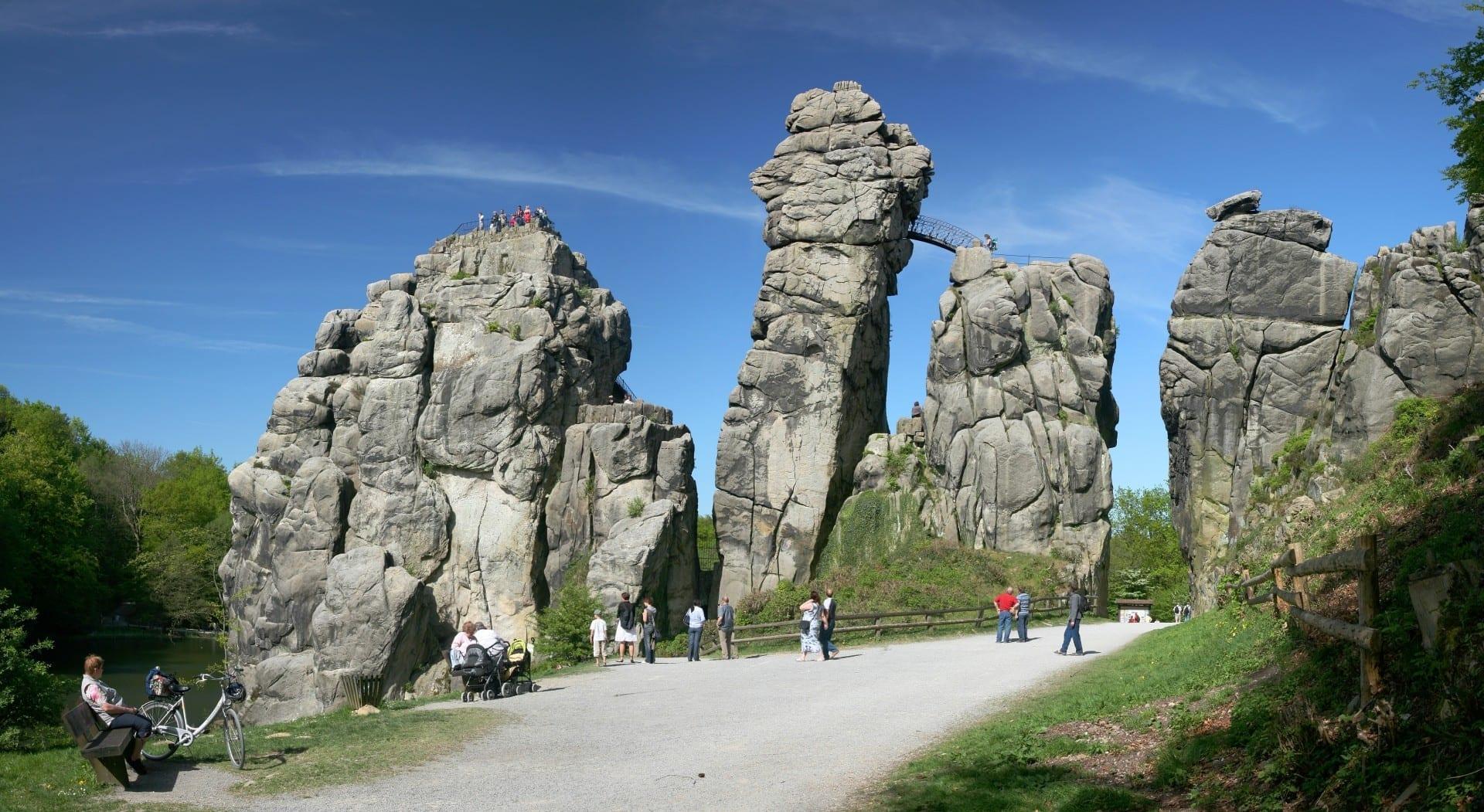 Piedras externas Detmold Alemania