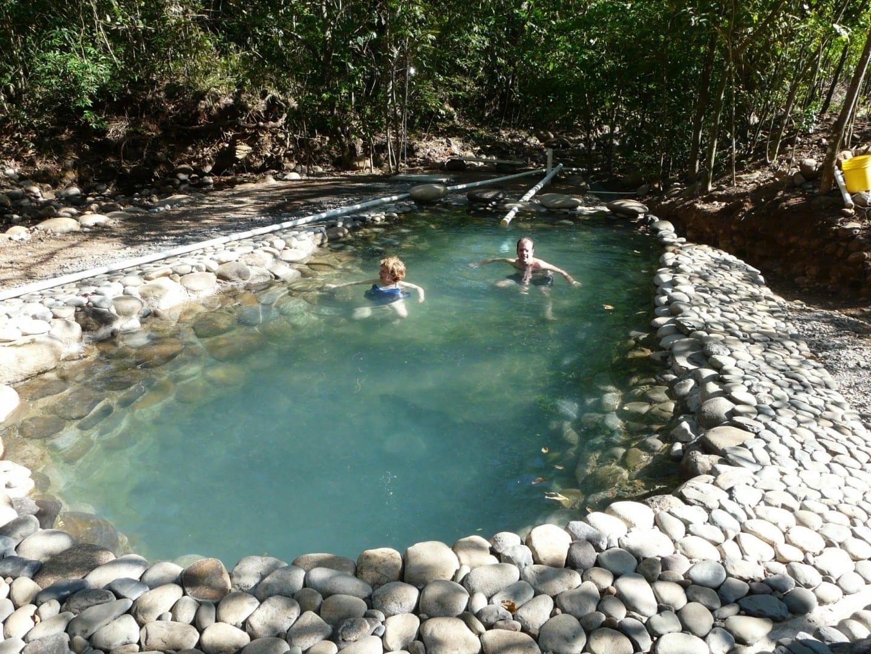 Piscina de aguas termales en Boquete Boquete Panamá