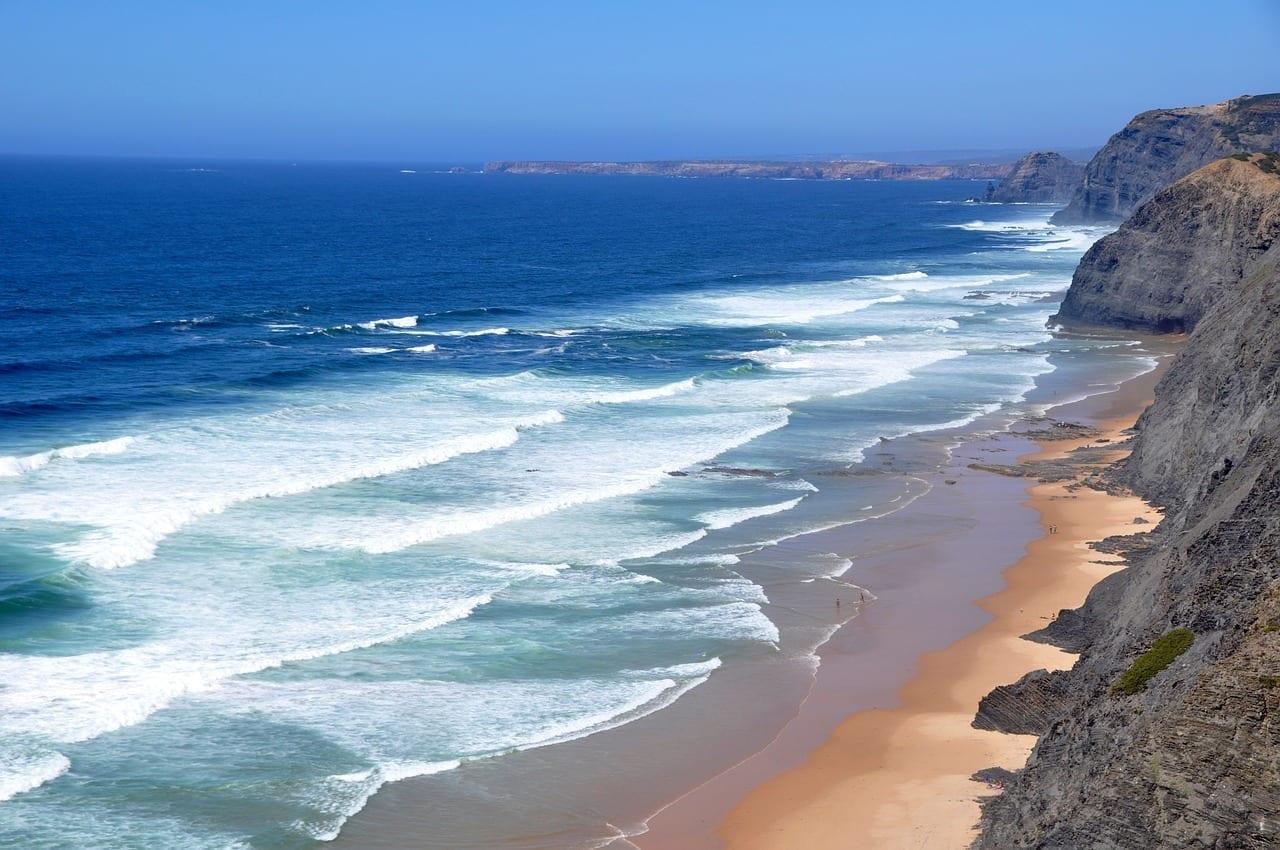 Playa Algarve Costa Oeste Portugal Portugal