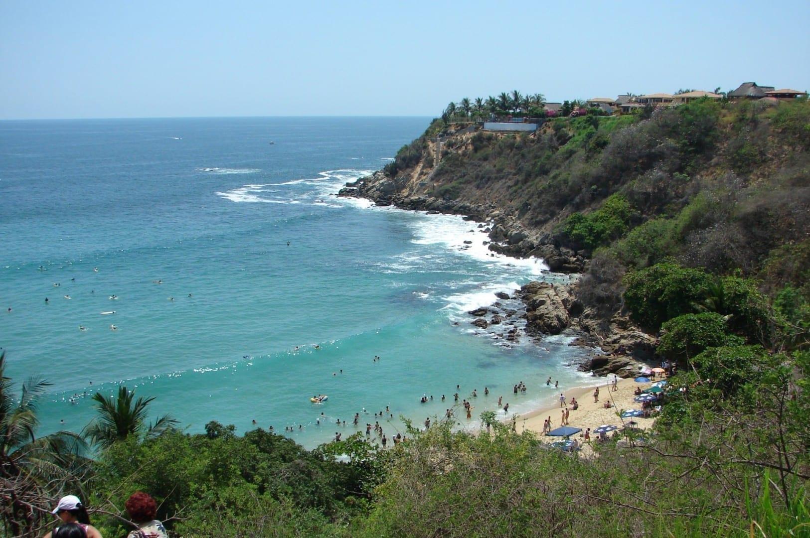 Playa Carrizalillo Puerto Escondido México