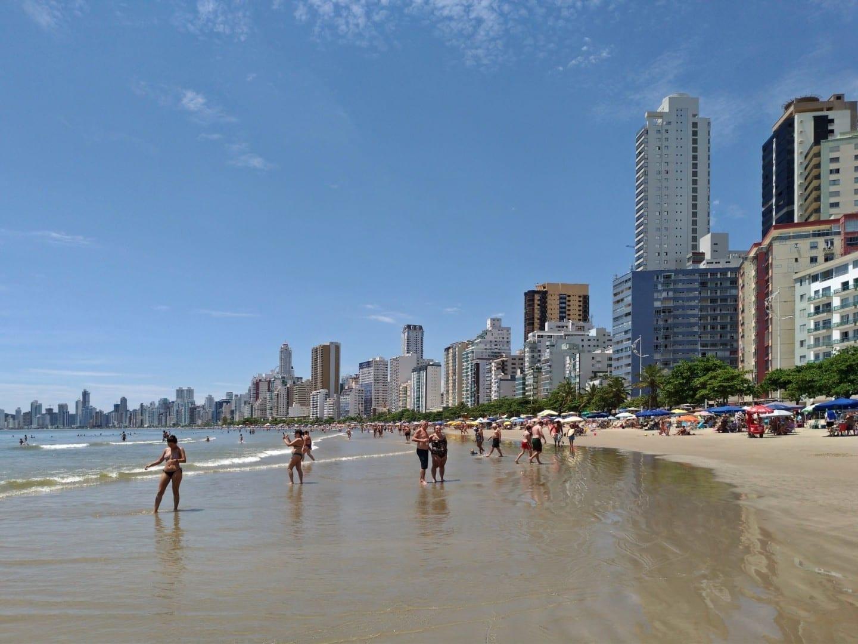 Playa Central. Balneario de Camboriu Brasil