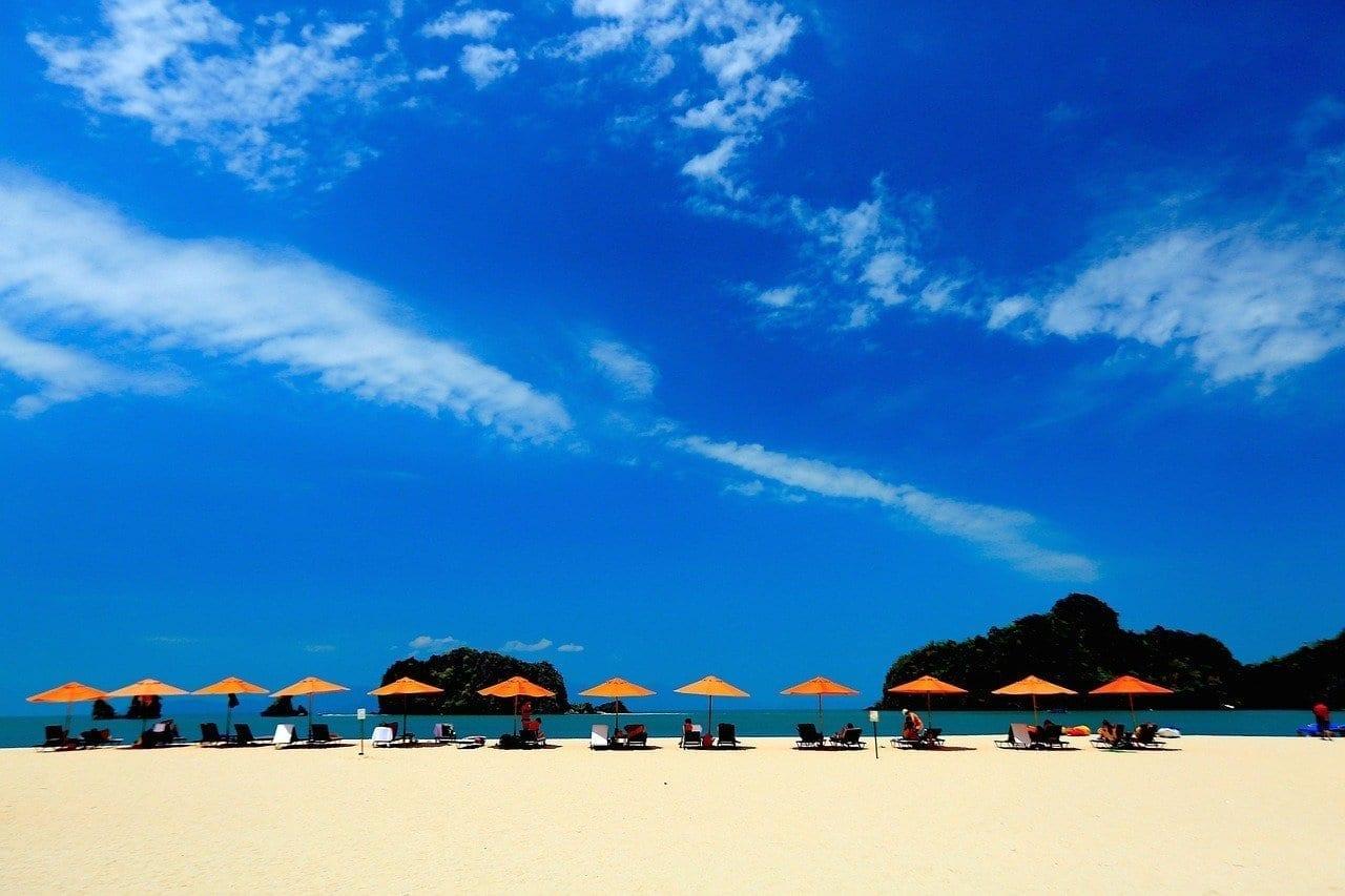 Playa Cielo Azul Langkawi Malasia