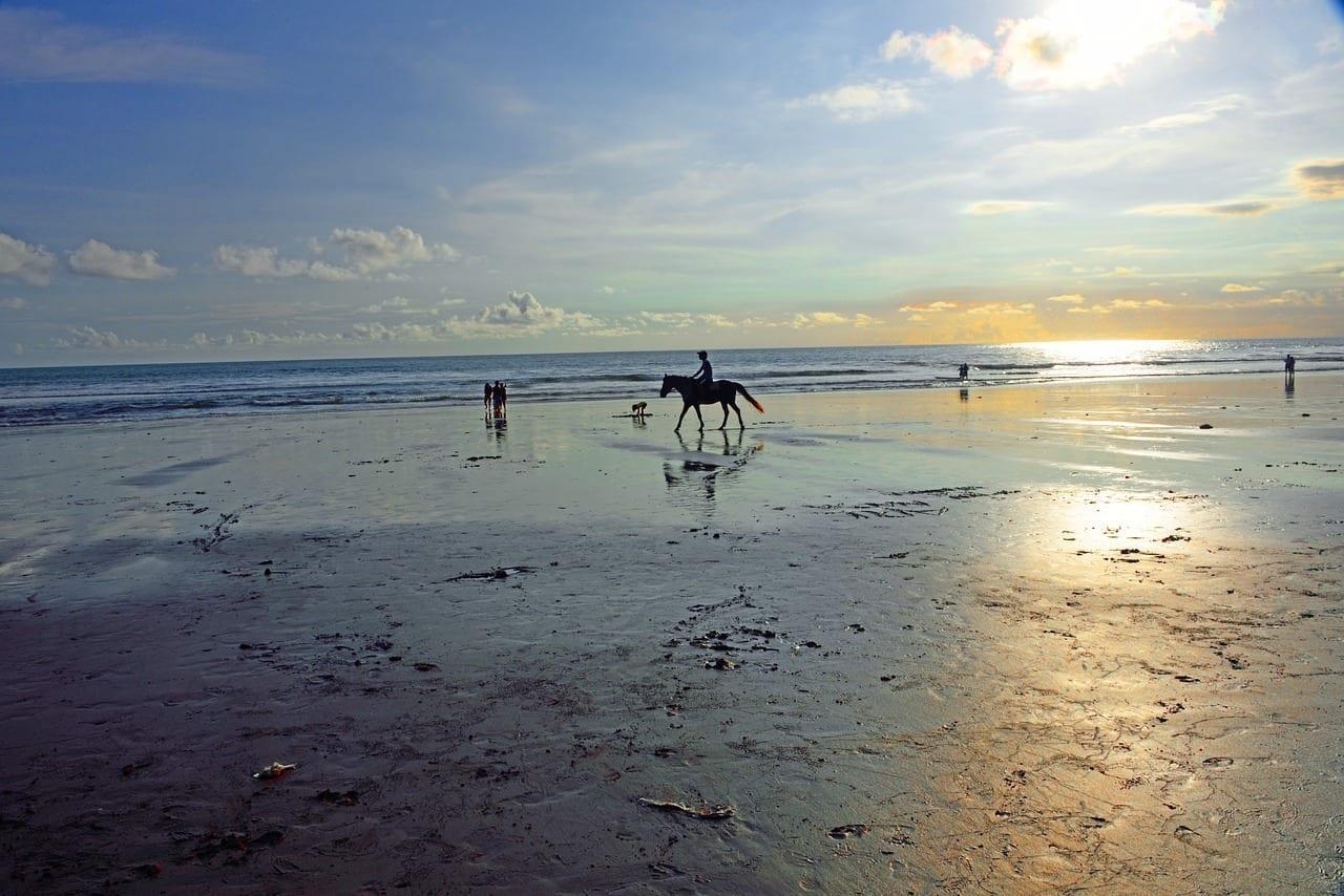Playa De Jimbaran Jimbaran Bali Indonesia