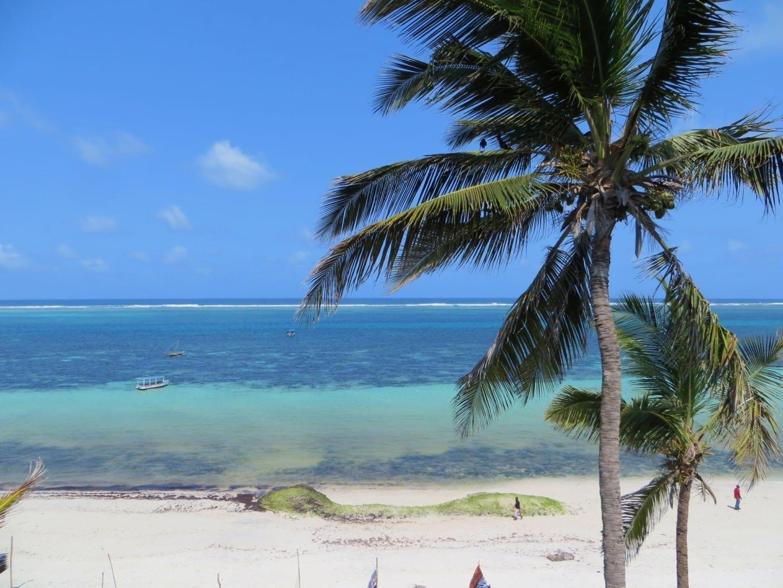 Playa de Nyali Mombasa Kenia