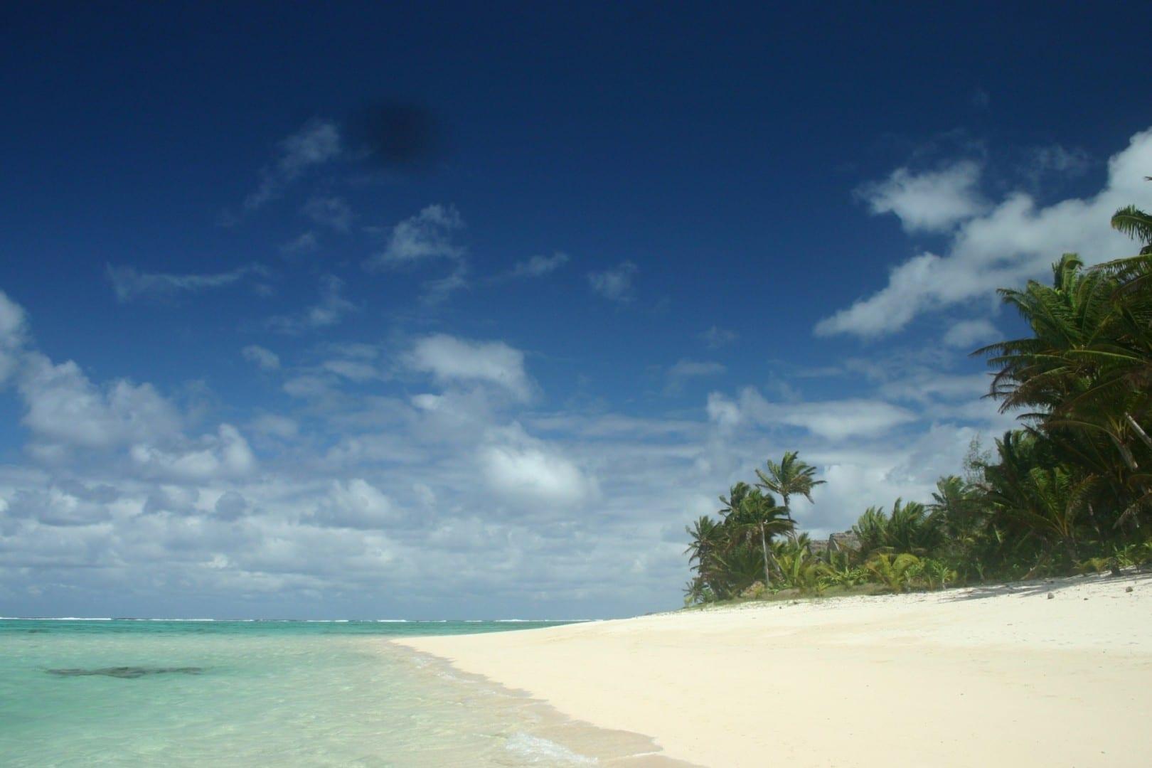 Playa de Titikaveka Rarotonga Islas Cook