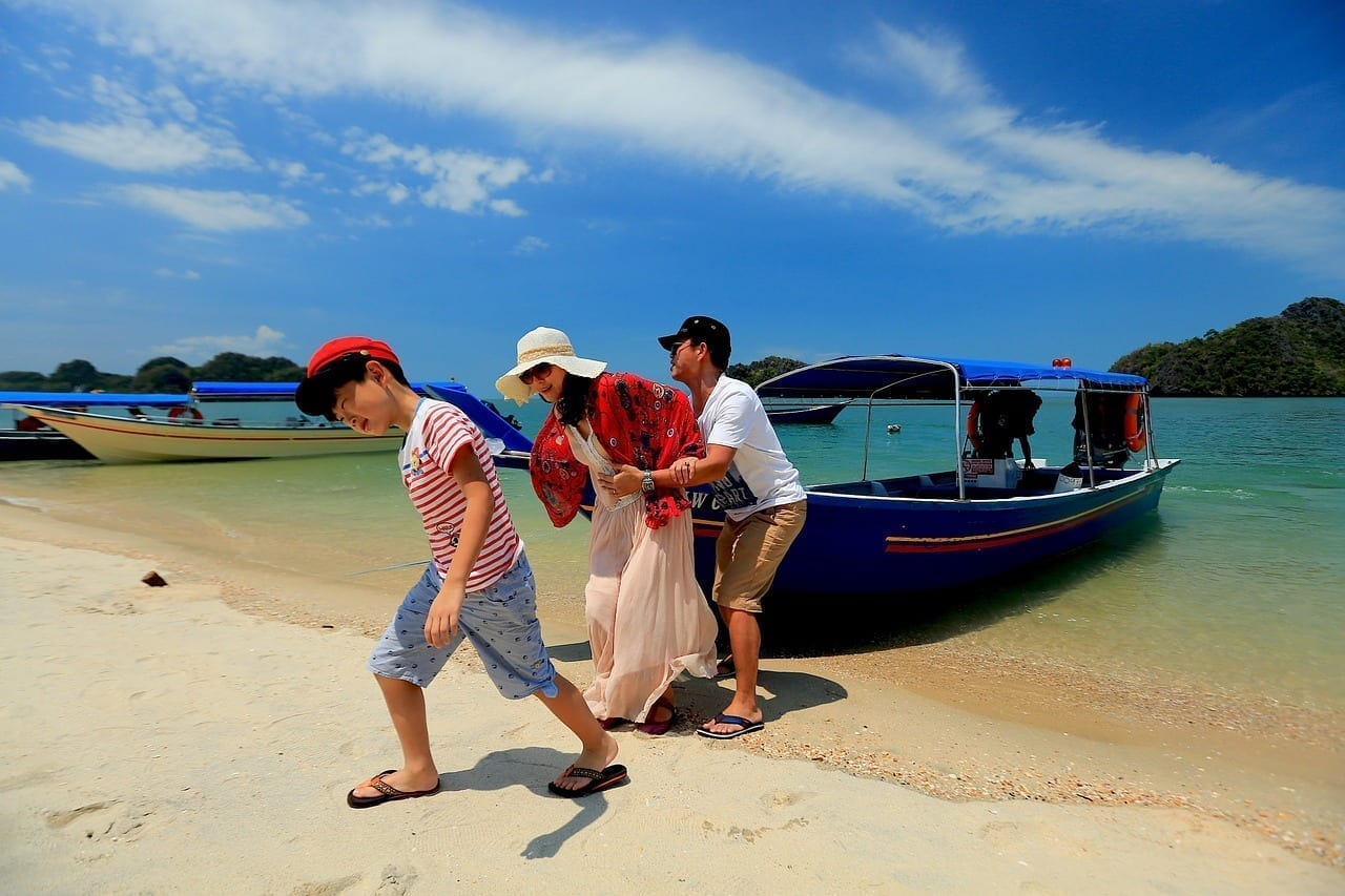 Playa Familia Langkawi Malasia