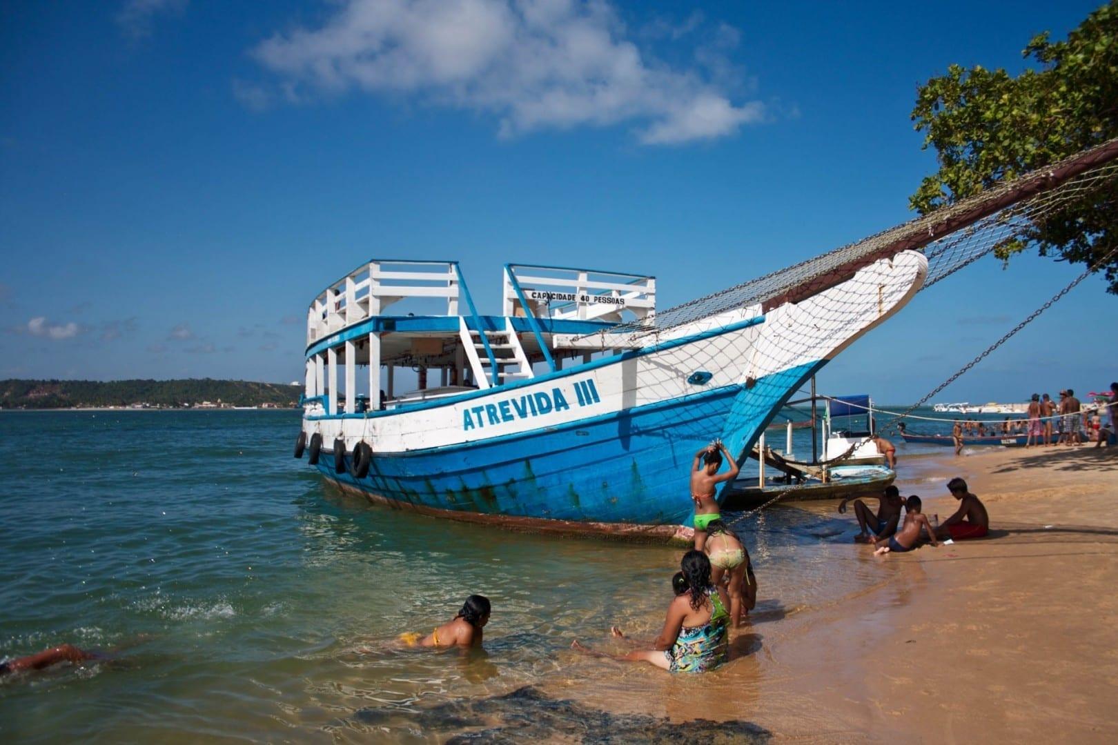 Playa Gunga Maceió Brasil