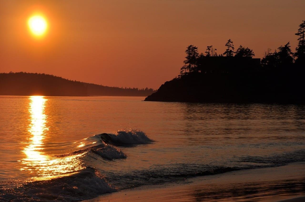Playa Mackenzie Tofino Británico Canadá