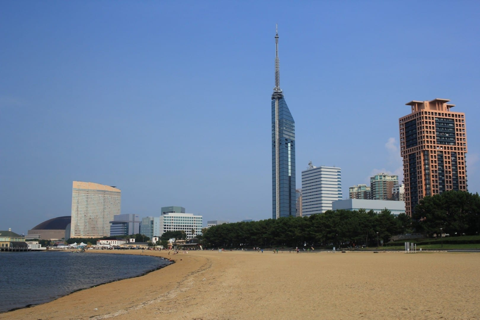 Playa Momochi Fukuoka Japón