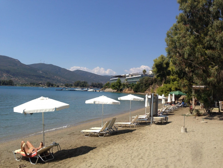 Playa Neorio Poros Grecia