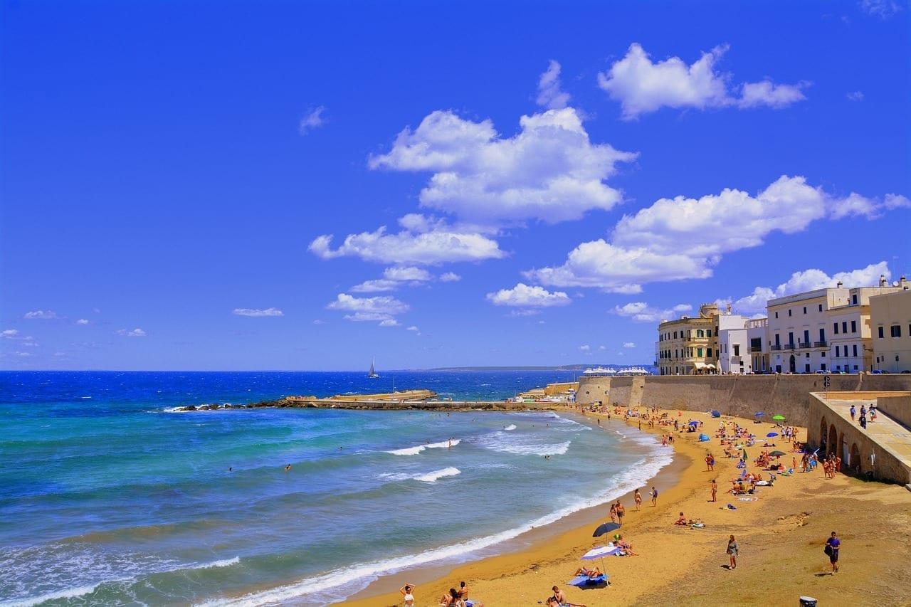 Playa Puglia Gallipoli Italia