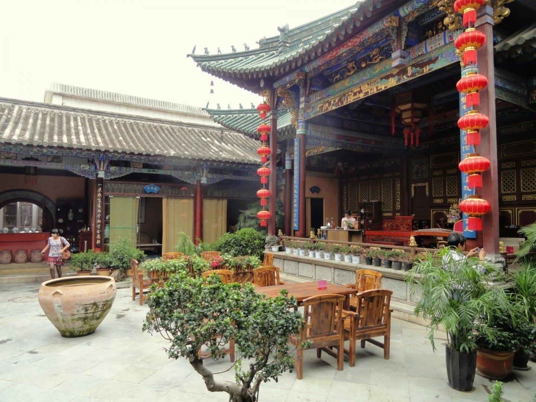 Plaza de la Cultura Zhenqing Kunming China