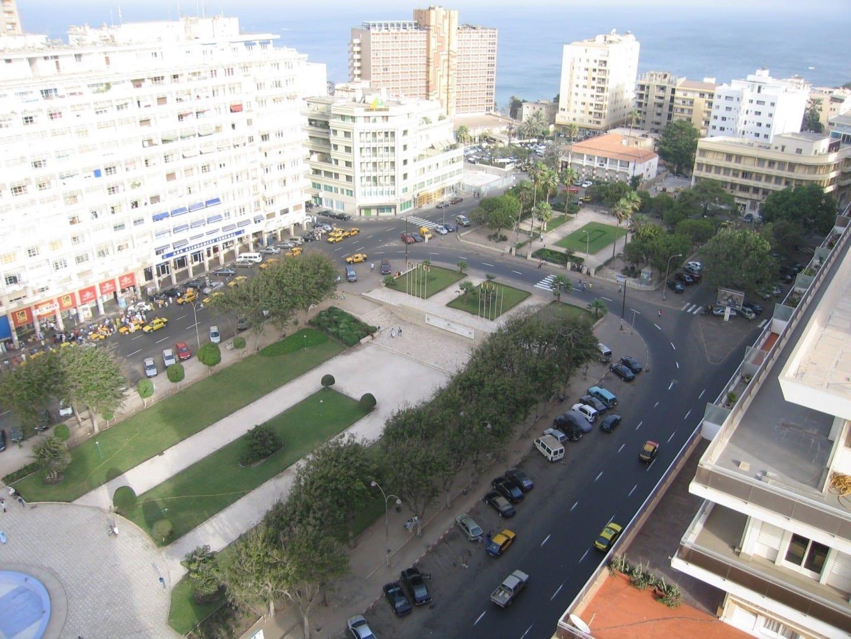 Plaza de la Independencia Dakar Senegal