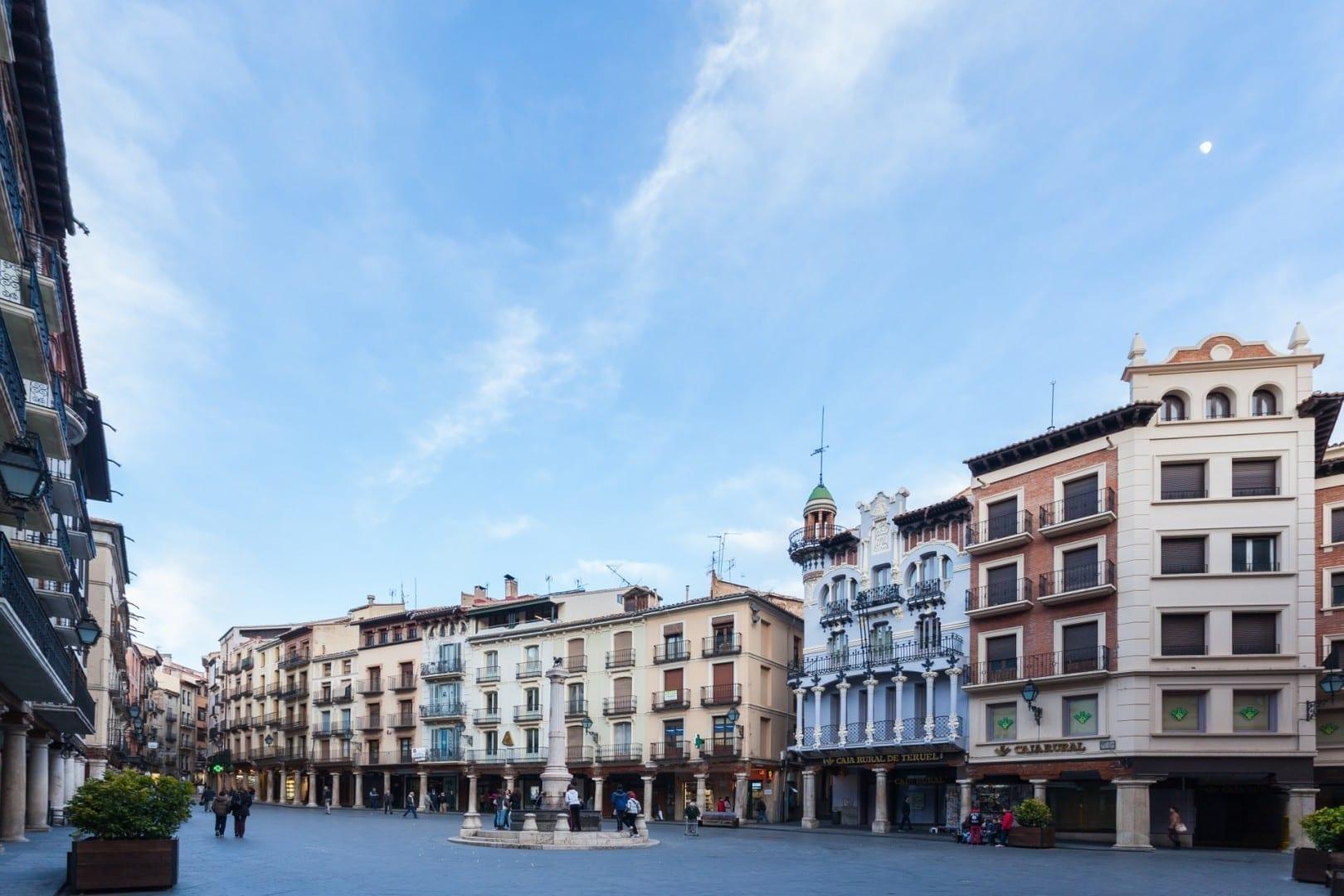 Plaza del Tórico Teruel España