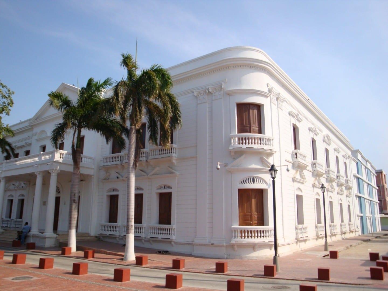 Plaza Santander Santa Marta Colombia