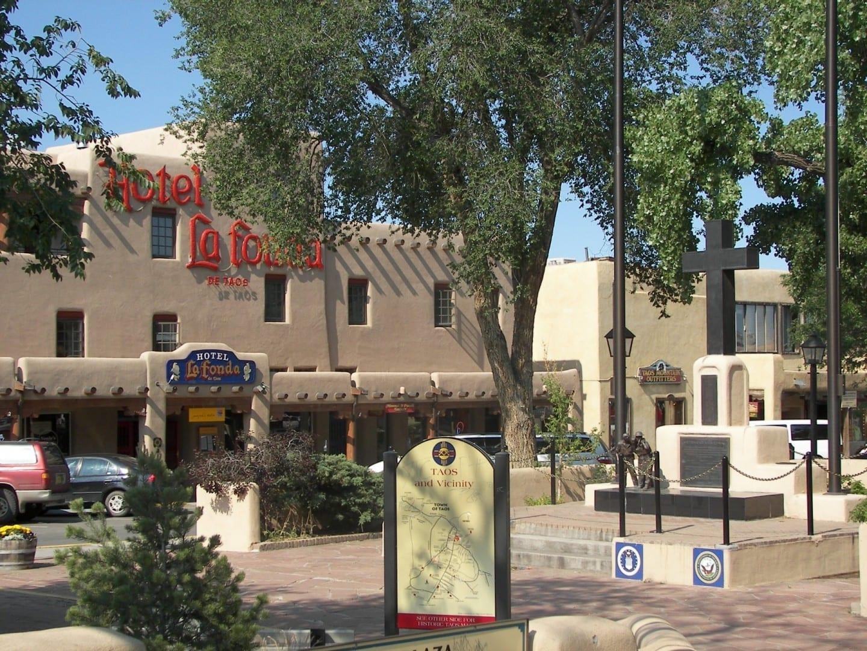 Plaza Taos Taos NM Estados Unidos