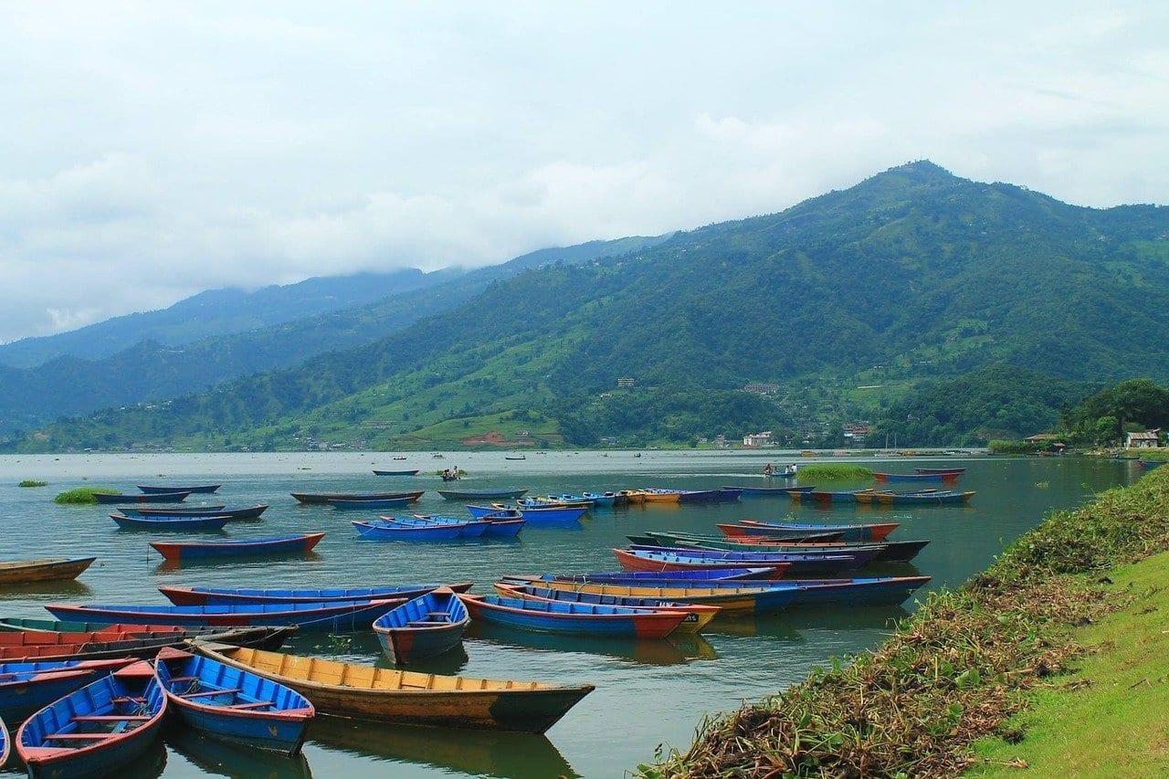 Pokhara Nepal Barcos Nepal