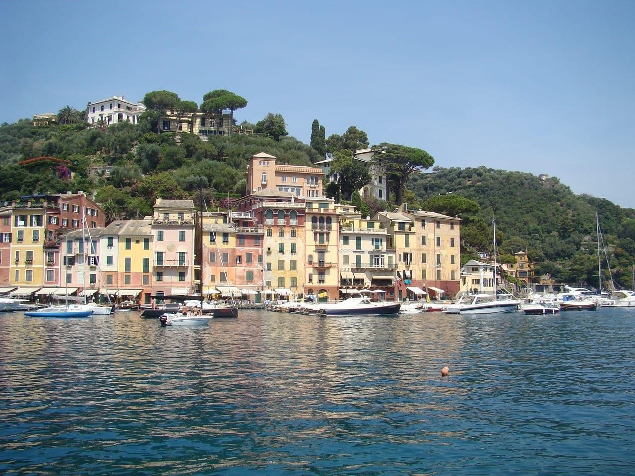 Portofino Desde El Italia