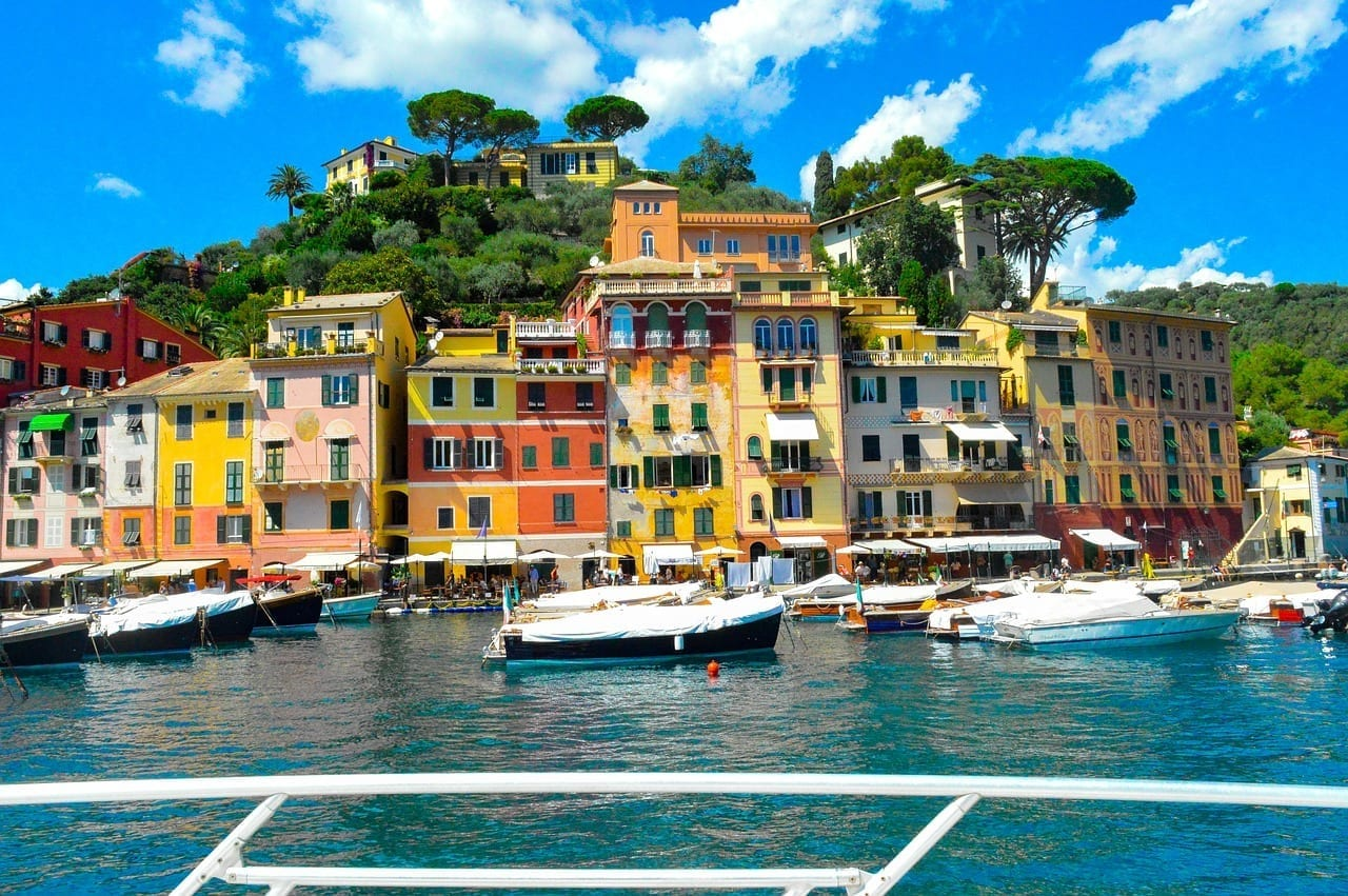 Portofino Liguria Yate Italia