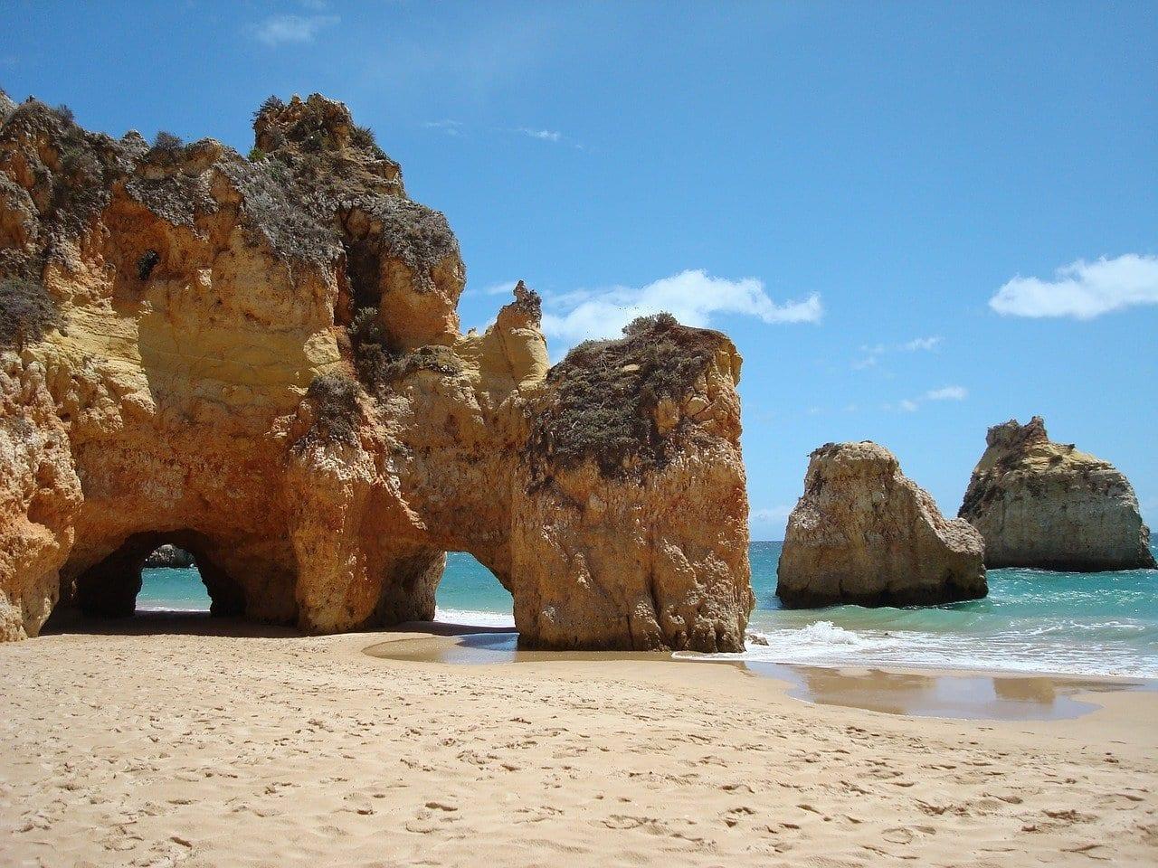 Portugal Algarve Mar Portugal