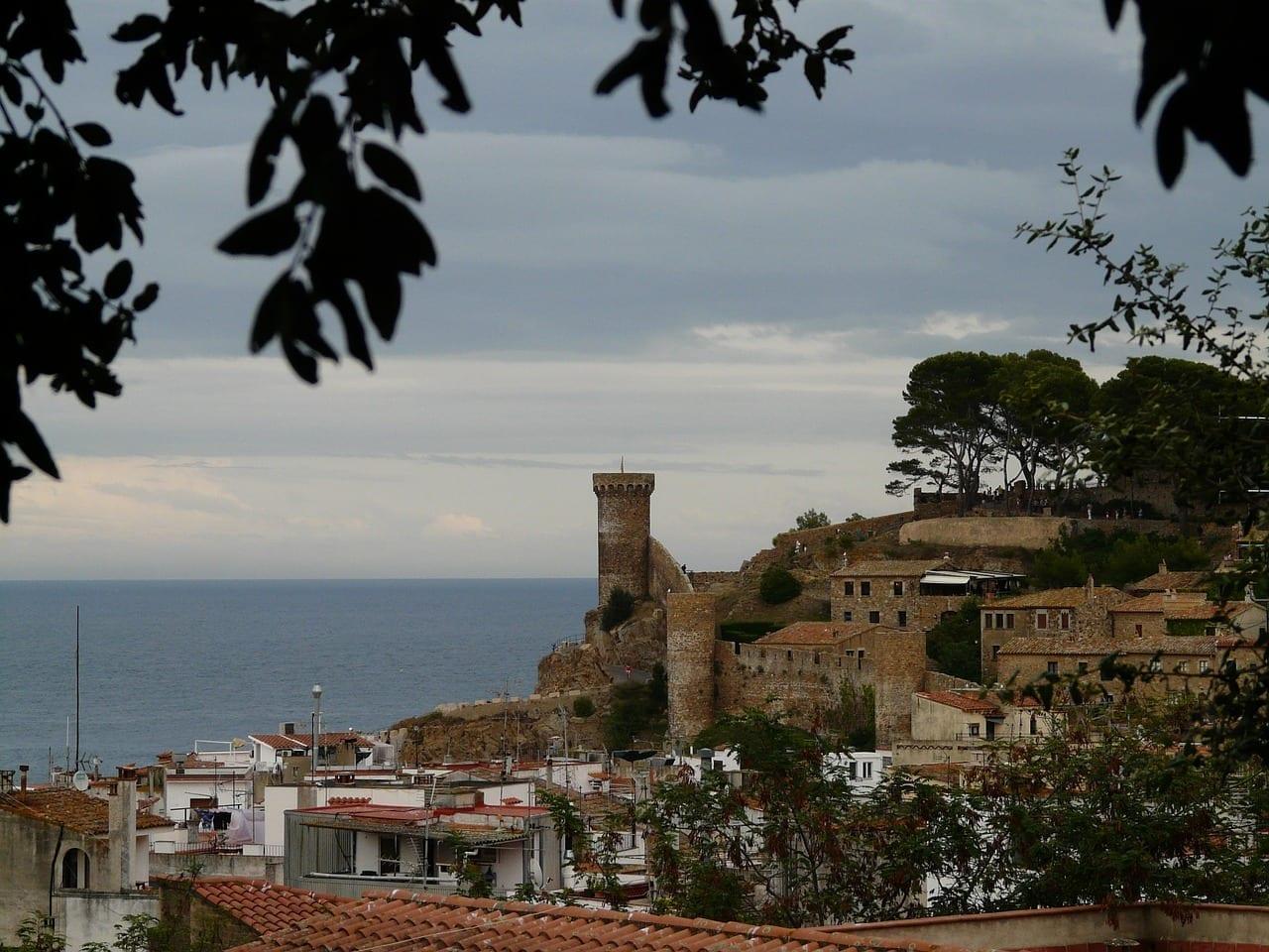 Postkartenmotiv De Tossa De Mar España España