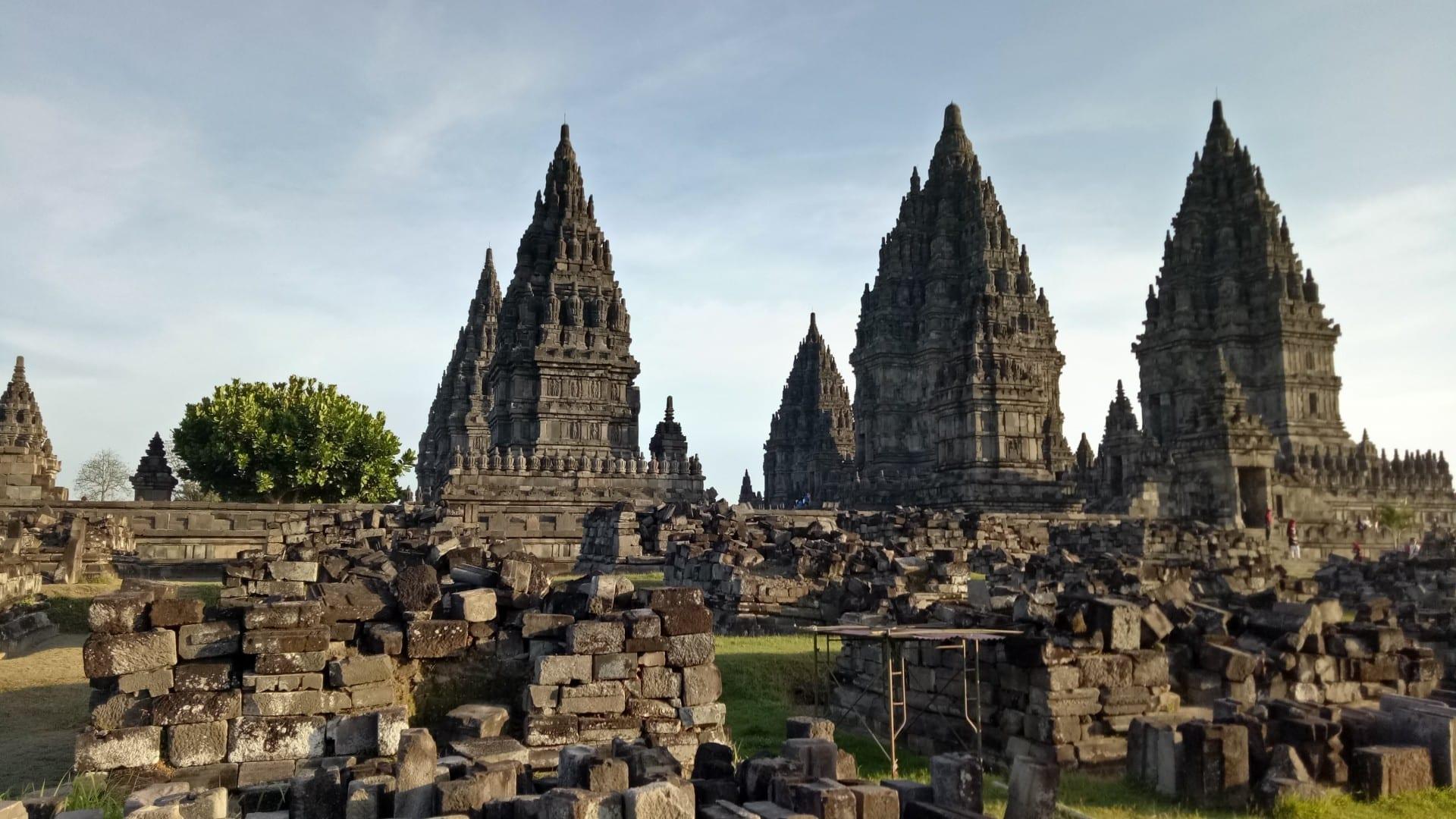Prambanan, la obra maestra del hinduismo javanés Yogyakarta Indonesia